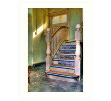 Upstairs - Downstairs Art Print