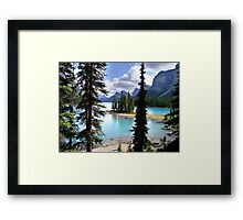 Incomparable Maligne Framed Print