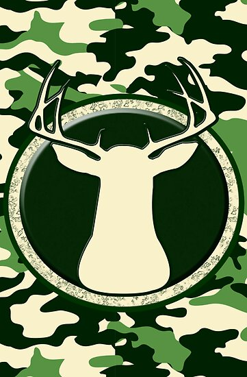 CAMO BUCK - ART  by Marcia Rubin
