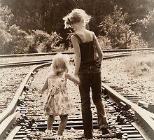 walking the tracks by piwaki