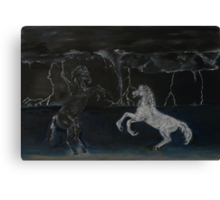 Wild Dance Canvas Print
