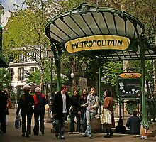 Abbesses Metro Station - Paris by MNDustyLens