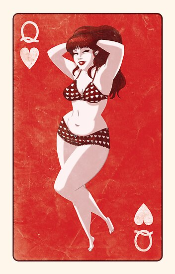 Queen Of Hearts by Douglas Holgate