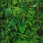 Black pepper berries by mkumundan