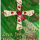 Heart of the Cross Christmas card by TdaoUrchin