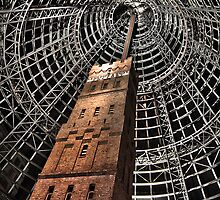 Melbourne Central - leadpipe and shot tower Variation by Gavin Poh