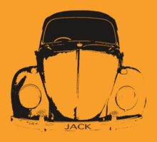 VW Beetle Shirt - JACK  by melodyart