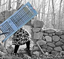 """Building A Mystery"" Self Portrait by MJD Photography  Portraits and Abandoned Ruins"