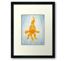 GULP! - Oil Painting Framed Print