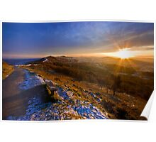 Malvern Hills: Golden Light Poster