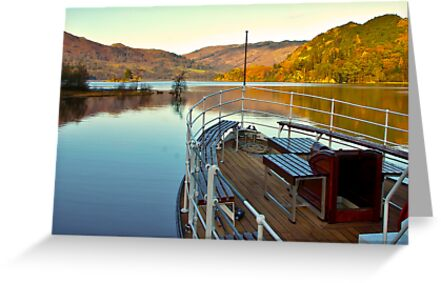 I am Sailing (Ullswater) by Trevor Kersley
