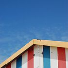 Beach Hut by Flylittlebird