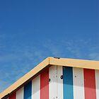 Beach Hut by Flylittlebird