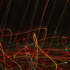 Suburb Christmas Light Series - Xmas Reach by David J. Hudson