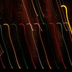 Suburb Christmas Light Series - Colour Canes by David J. Hudson