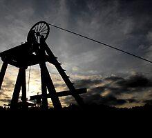 Blists Hill Mining Wheel by Lewkeisthename