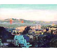 San Francisco California North to Goldengate Photographic Print