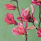 Magnolia 2 by Marjolein