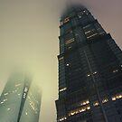 Jinmao Tower by Nicolas Noyes