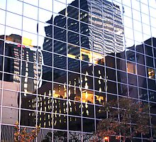 DTLA Reflections by CallinoisArt