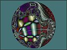 MandelEgg Ornament  (UF0057) by barrowda