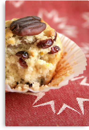 Cranberry orange pecan muffins by Jeanne Horak-Druiff