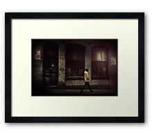 Walk On By... Framed Print