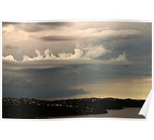 An Unusual Cloud Poster