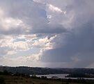 Storm over Terranora Broadwater by Odille Esmonde-Morgan