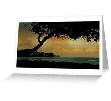 Tree Cover... Kauai Sensual Series Greeting Card