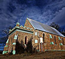 CHURCH ON THE HILL -DALGETY NSW AUSTRALIA by DANNY HAYES