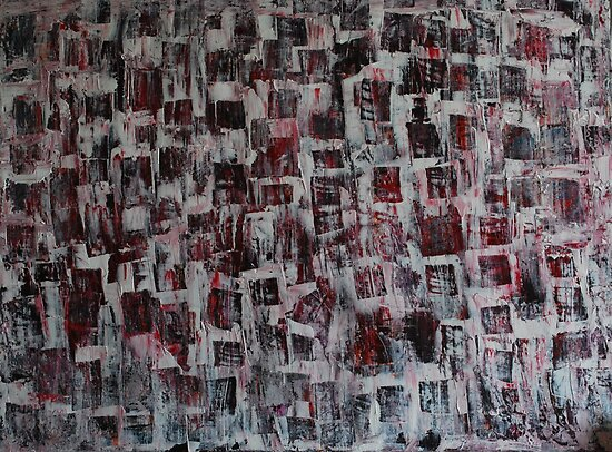 Crowded mind.. by Jules Baldwin
