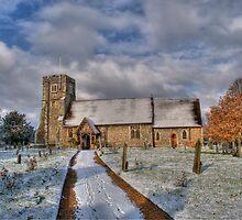 St Margarets Church Ridge Hertfordshire by Chris Thaxter