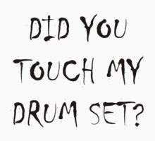 Drum Set Black by NostalgiCon