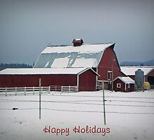 Happy Holidays by Kathy Yates