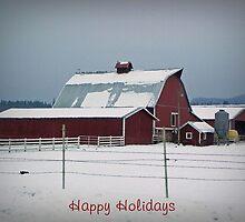 Happy Holidays by Kathy Yates