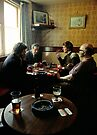 Card game in Pub, England,1980's by David A. L. Davies
