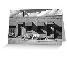 Route 66 - Blue Swallow Motel Greeting Card