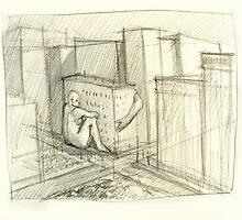 Imaginary Building no. 1 by Jeffrey Rowekamp