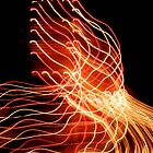 Suburb Christmas Light Series - Xmas A/C by David J. Hudson
