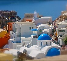 Santorini . Oia . (Greece) by Brown Sugar . Merry Christmas Everyone ******* F** Views (1517) . Favs (4) thanks , dzięki !!! by AndGoszcz