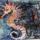 Three Seahorses by Visuddhi