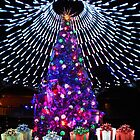Dome of lights on this tree at the Casino. by EdsMum
