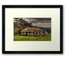 Location Location - Somewhere on the Road To Hill End - The HDR Experience Framed Print