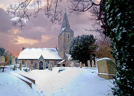All Saints Church,Birchington,Kent by Geoff Carpenter