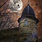 Castle with ghosts. Country of Harry Potter. by mike2048