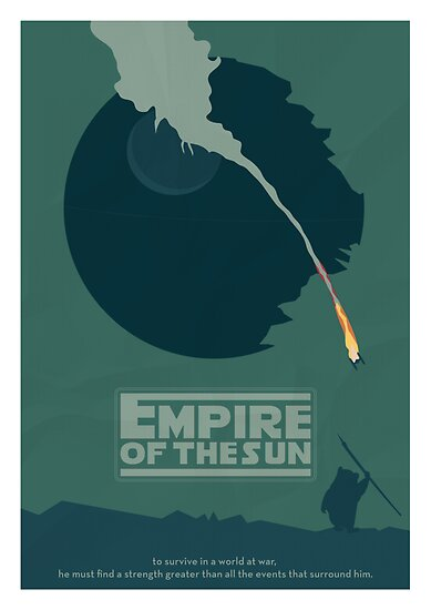 Minimalist Movie Poster: Empire Of The Sun by mattranzetta