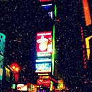 Times Square in Winter by ShellyKay