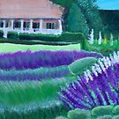 In the Garden of Dreams - Closeup View Acrylic painting by Rick Short