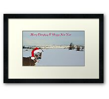 Merry Christmas  from Megan xx Framed Print